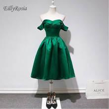 Compra Verde Esmeralda Vestido De Baile De Graduación