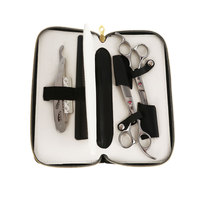 Gustala Professional Hairdressing Scissors Set Beauty Salon Cutting Tools Barber Hairdressing Scissors Styling Tools With Bag