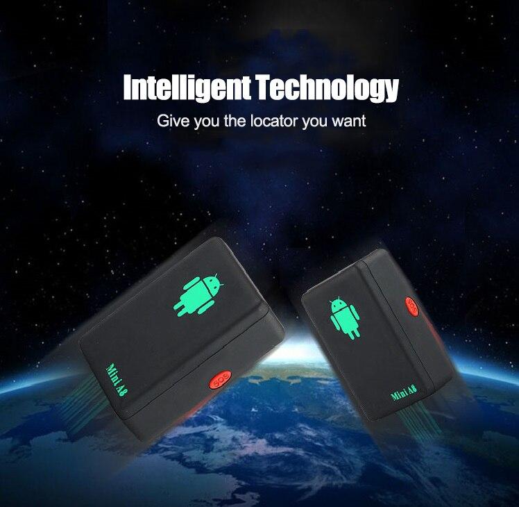 A8 Mini GSM/GPRS Tracker Globale Realzeit GSM GPRS Tracking-Gerät Mit SOS-Taste für Autos Kinder Elder haustiere Keine GPS Keine GPS heißer
