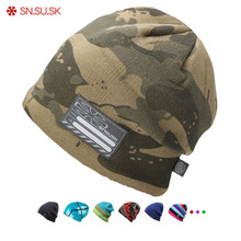 купить SN.SU.SK 2019 Winter Hat Gorros Snowboard Autumn Hats Skating Ski Caps Skullies And Beanies For Men Women Hip Hop Caps дешево