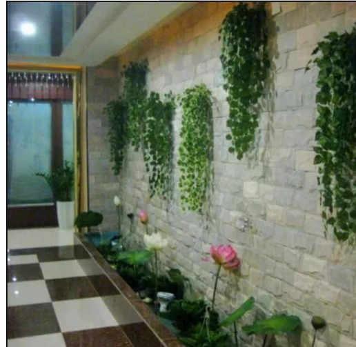 Flores artificiais 2.4M Artificial Ivy Folha Garland Plantas Vine Falso Folhagem Flores Home Decor falso plantas flores