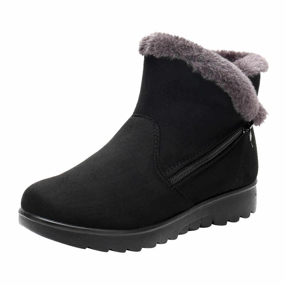 d044df25c30 ... SAGACE botas sapatos mulher da neve botas mulheres botas de Inverno  Tornozelo Martin Bota De Neve ...