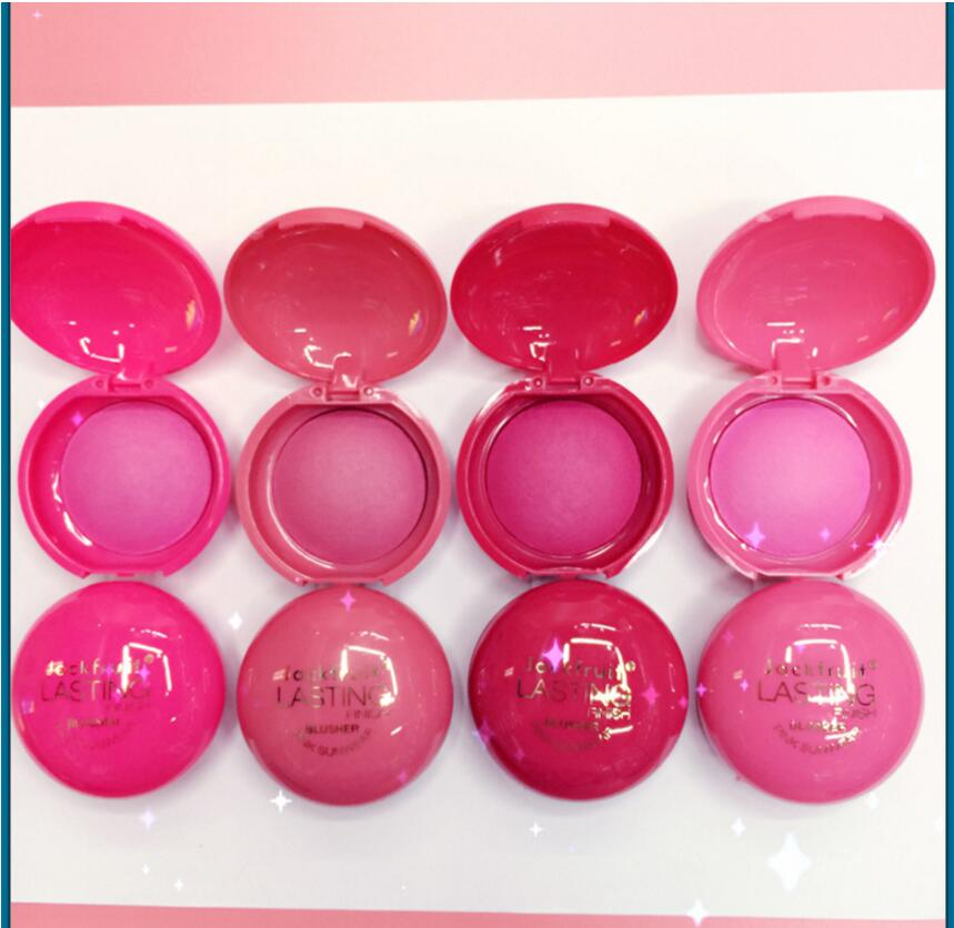 24 pcs 2016 New JACKFRUIT Mineral Baked Pearlescent Blush Natural Flawless Rouge Powder
