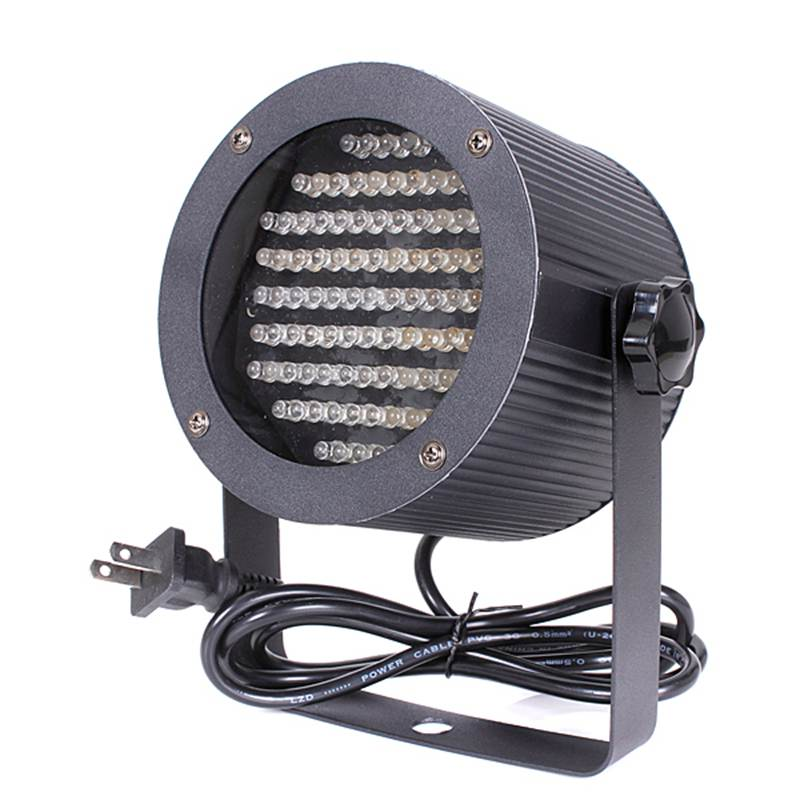 ФОТО High Quality 86 LED RGB 4 Channel DMX Stage Light Lighting Laser Projector Party Show DJ Disco Lamp Bulb 25W 90-240V