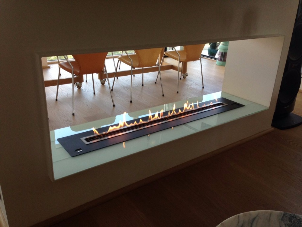 en venta elctrico bio lareira chimeneas de bioetanol interior decorativo de interior al aire libre de