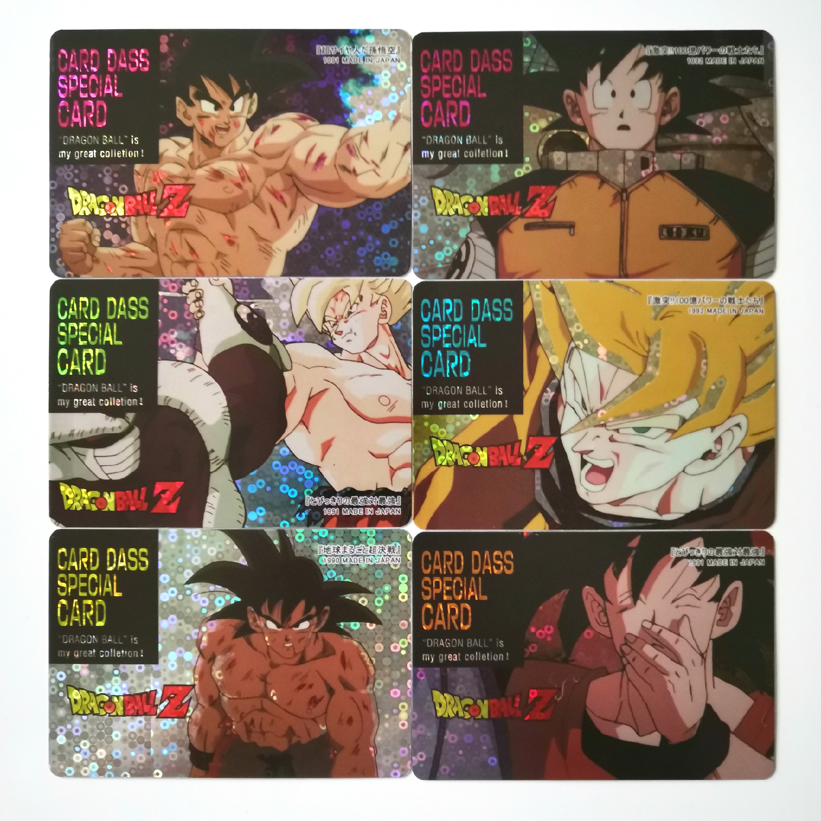 22pcs/set New Super Dragon Ball Z Heroes Battle Sticker Card Ultra Instinct Goku Vegeta Game Collection Anime Cards