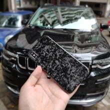 Volle Geschmiedet Verbund Real Carbon Fiber Fall für iPhone X XS XR Abdeckung Luxus Glänzend Muster für Apple iPhone XS max Mobile Fall