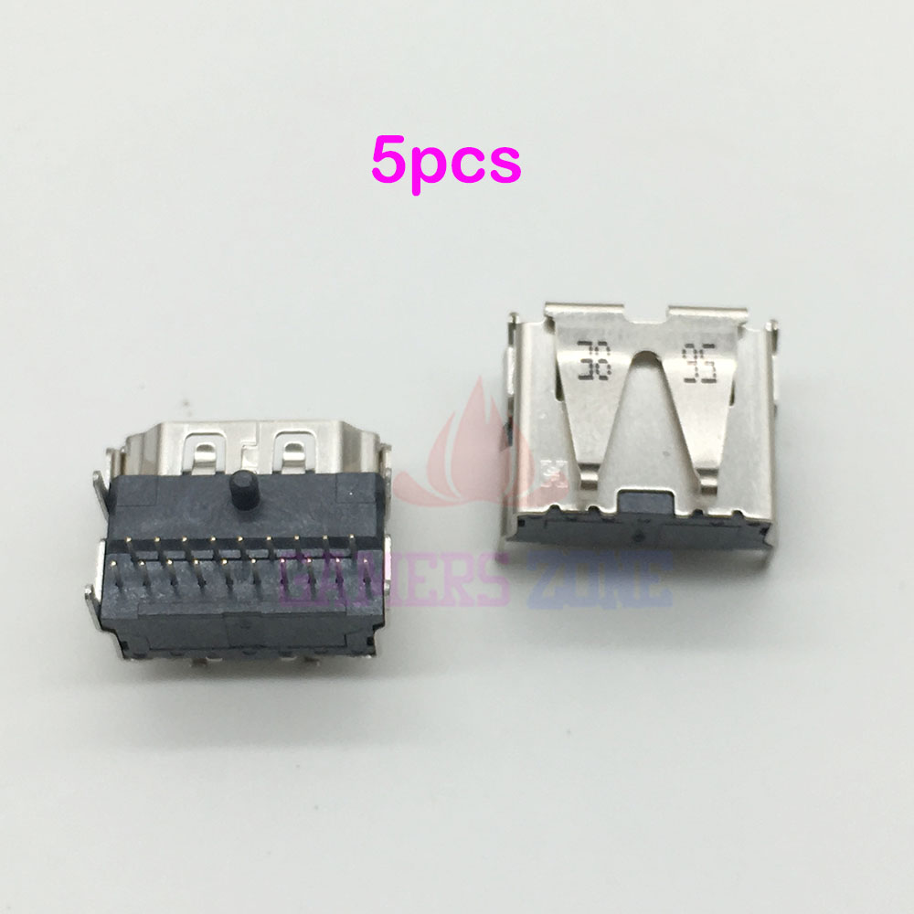 5PCS For SONY <font><b>Playstation</b></font> 3 slim 3000 HDMI Port Socket Plug Jack Connector For PS3 CECH-3000