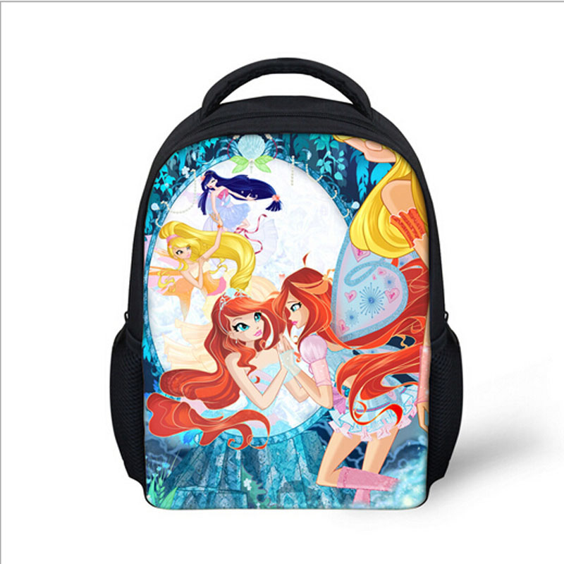 779f039a3116 Hot Sale 10 Style Winx Club Backpack Girls Mochila Escolar Children School  Bag Customized Mochilas Mujer Kids Free Shipping B002-in Backpacks from  Luggage ...