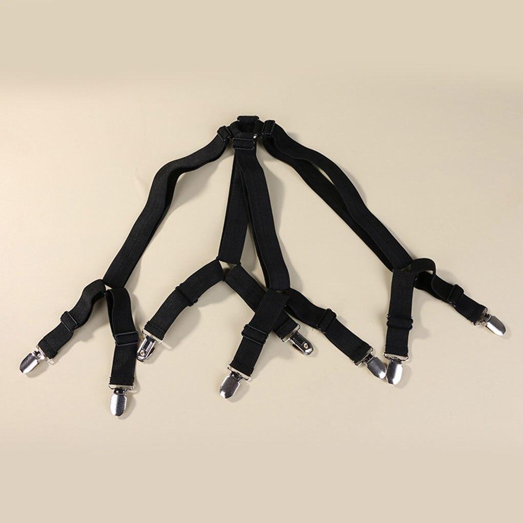 New 2 Pcs Sheet Bed Adjustable Suspenders Crisscross Band ...