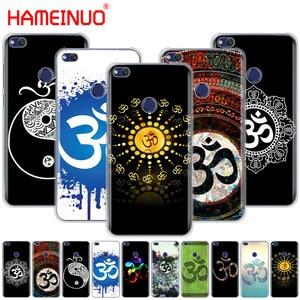 HAMEINUO Aum Om Yoga Cover phone Case for huawei Ascend P7 P8 P9 P10 P20 lite plus pro G9 G8 G7 2017
