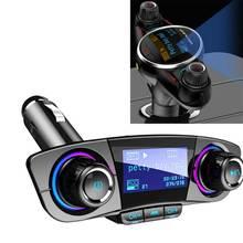 Беспроводной fm-передатчик Aux модулятор Bluetooth Handsfree автомобильный комплект автомобильный аудио mp3-плеер Поддержка Micro SD TF карты автомобильные аксессуары