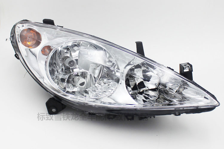 for Peugeot 307 old headlight assembly front lighting headlamps headlamp