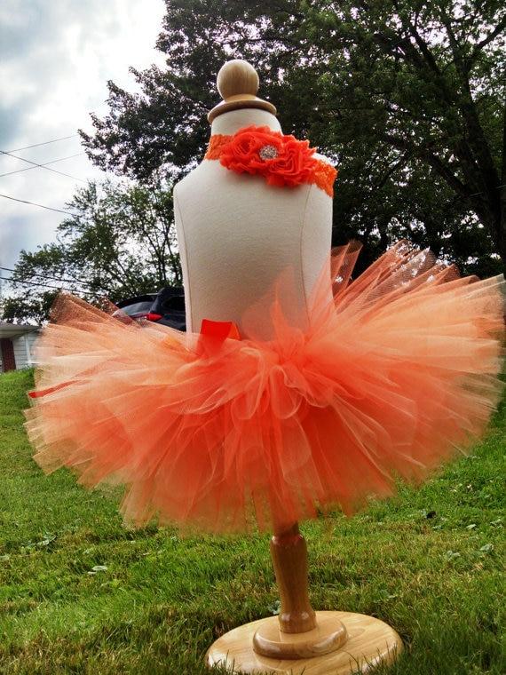 Νέα λιανικά κορίτσια πορτοκαλί - Παιδικά ενδύματα - Φωτογραφία 3