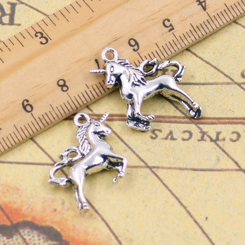 10pcs Charms horse union 25*23mm Tibetan Silver Plated Pendants Antique Jewelry Making DIY Handmade Craft