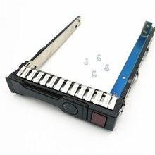 10 แพ็ค 651687 001 G8 2.5 นิ้ว Gen8 ฮาร์ดไดรฟ์ถาด/แคดดี้/วงเล็บสำหรับ Gen8 DL380 360 160 385, จัดส่งฟรี