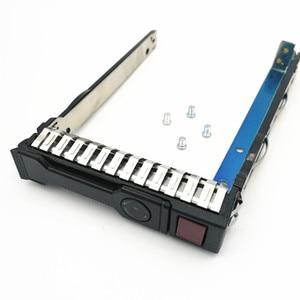 Image 1 - 10 حزم 651687 001 G8 2.5 بوصة Gen8 القرص الصلب صينية/العلبة/قوس ل Gen8 DL380 360 160 385 ، شحن مجاني