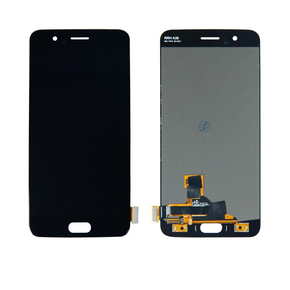 Frete Grátis Para 5.5 Oneplus 5 Cinco 1 + 5 A5000 Digitador Touch Screen Display LCD Assembléia Substituição + ferramentas