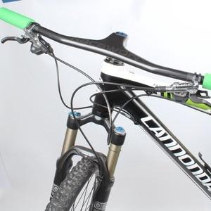 Image 2 - คาร์บอนไฟเบอร์ Handlebar UD Matt รูปแบบบูรณาการ Handlebar Stem 720/740/760mm สำหรับ MTB DH จักรยานเสือภูเขาจักรยานอะไหล่