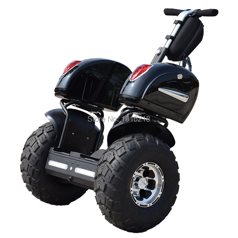 Mise à niveau de luxe 19 pouces hors route Scooter électrique tout terrain Gyroscope deux roues auto équilibrage Scooters Chariot électrique