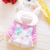 Casaco Meninas Jaqueta Infantil Bebês Outerwear Moleton Infantil dos desenhos animados Do Bebê Do Bebê Recém-nascido Menina Top Parka Manto Criança Capes 70D044
