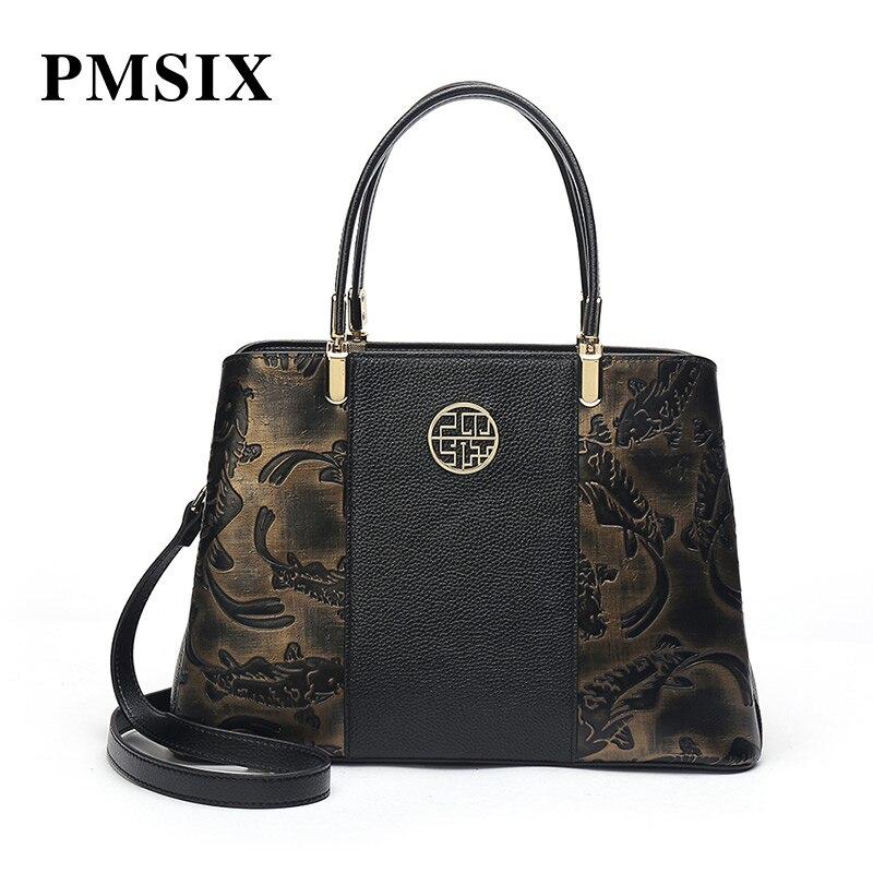 20b0a30e3a2a Новый Бостон женская сумка ретро искусственная кожа цилиндр сумка модные ...