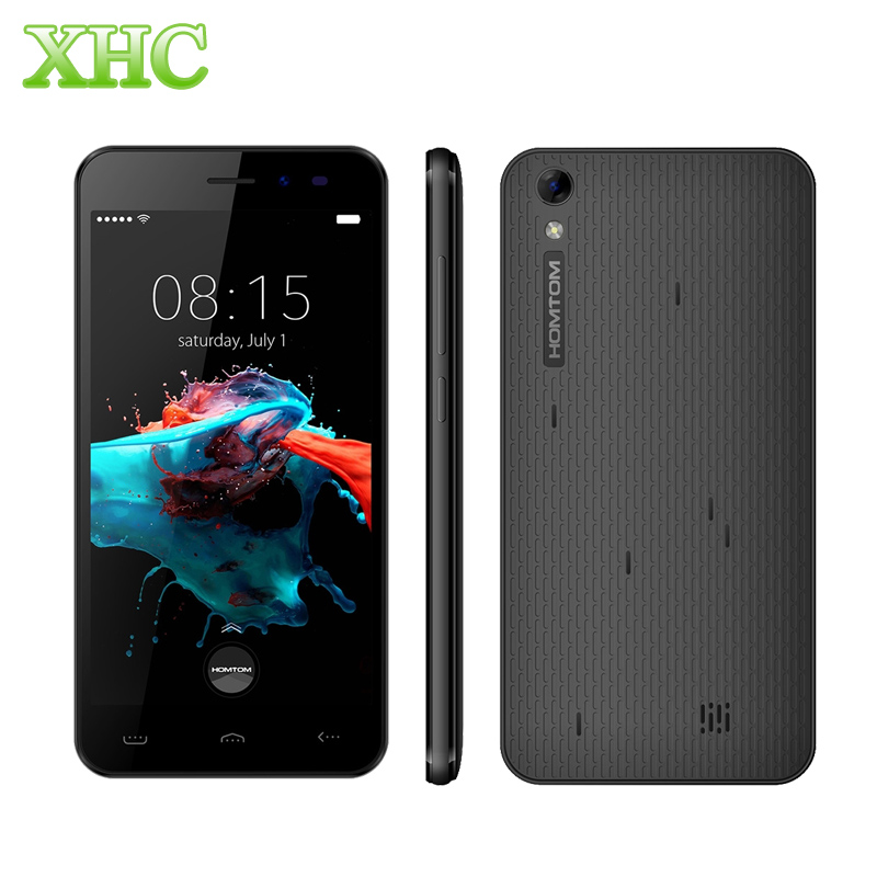 HOMTOM HT16 3G WCDMA Smartphones MTK6580 Quad Core Android 6 0 1GB RAM 8GB ROM Cellphones