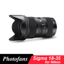 Sigma 18-35 lens for Nikon 18-35mm f/1.8 DC HSM Art Lenses for Nikon D5500 D5200 D5300 D5600 D90 D7000 D7100 D7200 D500 D300