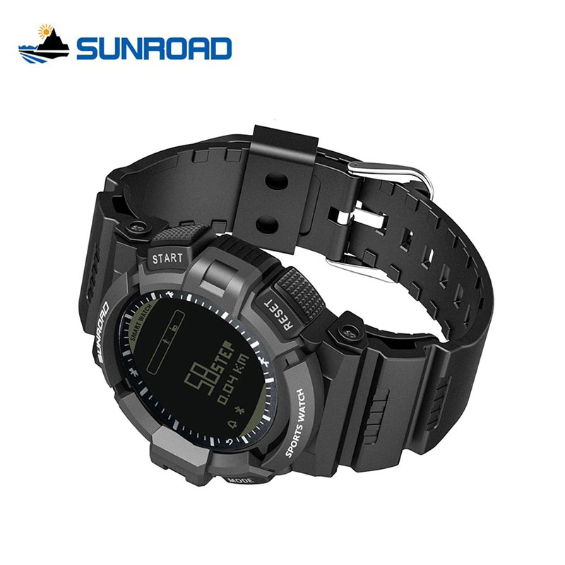 SUNROAD Heart Rate Monitor Pedometer Fitness Tracker Sport Waterproof Watches Bluetooth Call Reminder Mobile Finding Watch Men creative smart watch heart rate monitor pedometer alarm clock waterproof bluetooth fitness tracker sport watch for men and women