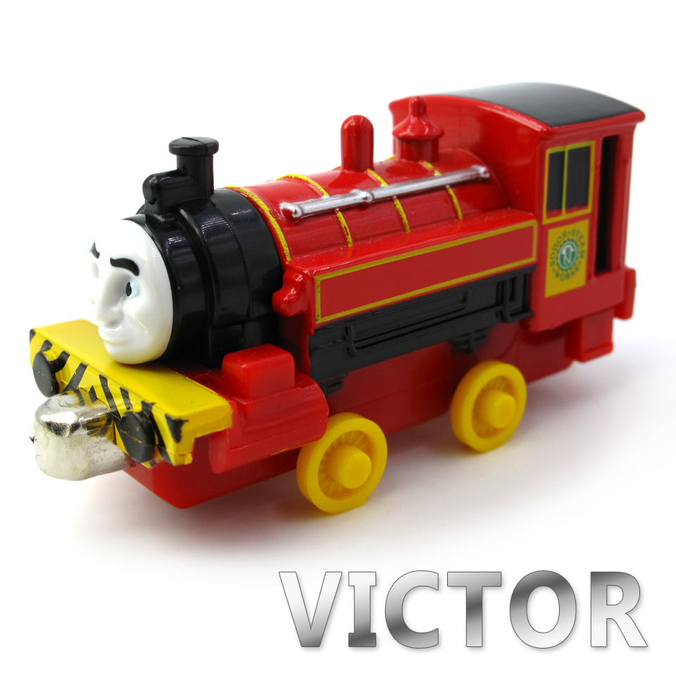 Diecasts Vehicles Thomas T137D VICTOR Thomas And Friends Magnetic Tomas Truck Car Locomotive Engine Railway Train Toys for Boys