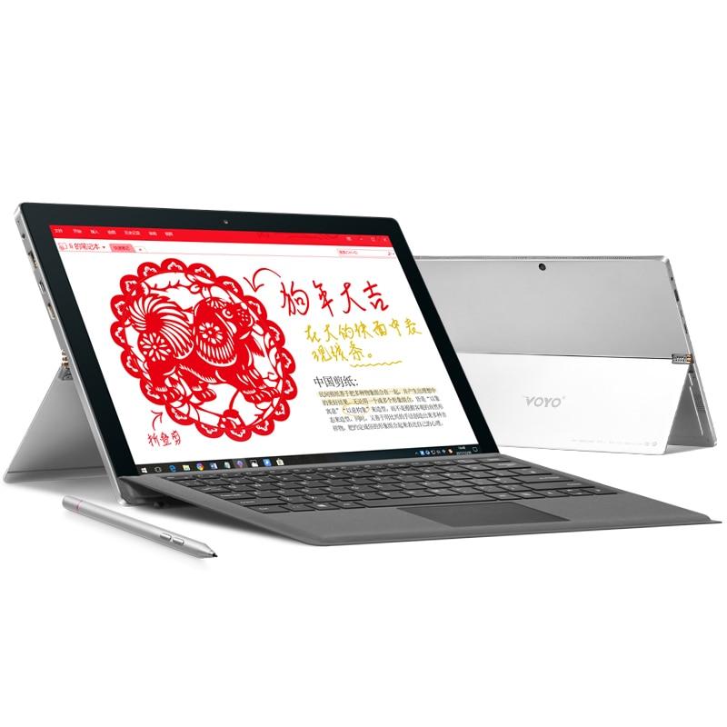 VOYOOR i7plus intel i7 7500U Grande Schermo HD 2880*1920 8g di RAM 256 gb SSD Supporto di windows tablet penna dello stilo 12.6