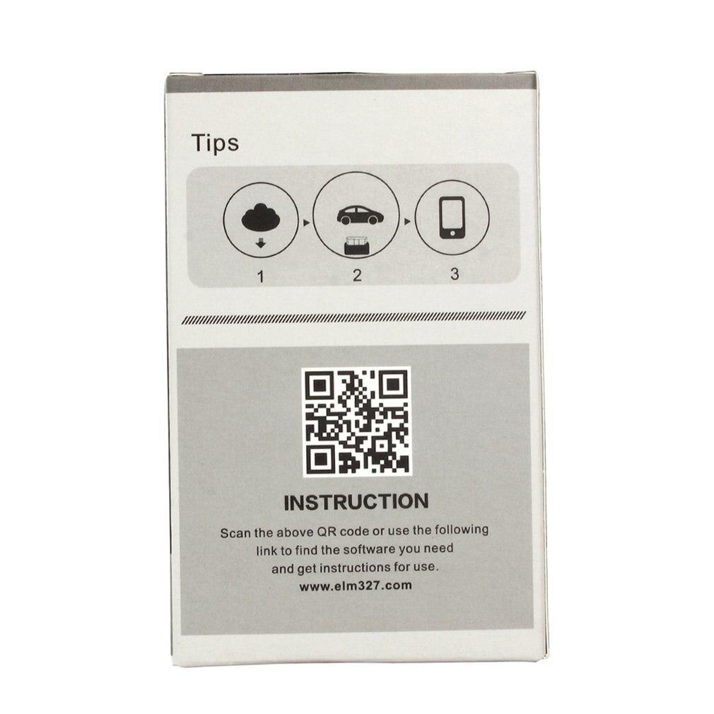 Bluetooth Car Ferramenta De Diagnóstico Auto Scanner