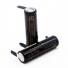 Литиевый аккумулятор Liitokala, литий ионная батарея 18650 3500 мА · ч, 3,6 в разряд 20 А, предназначен для самостоятельного изготовления батареи из никеля в стиле «сделай сам», в стиле «сделай сам»