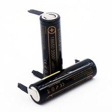 Liitokala nouveau lii 35A N 18650 3500 mAh 18650 batterie au lithium 3.6 V décharge 20A, dédié à la batterie de Lii 35A + bricolage nickel