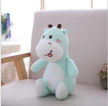 WYZHY  New Year Gift Mascot Down Cotton Cute Fawn Doll Plush Toys Send Friends Children Birthday Gifts 20CM