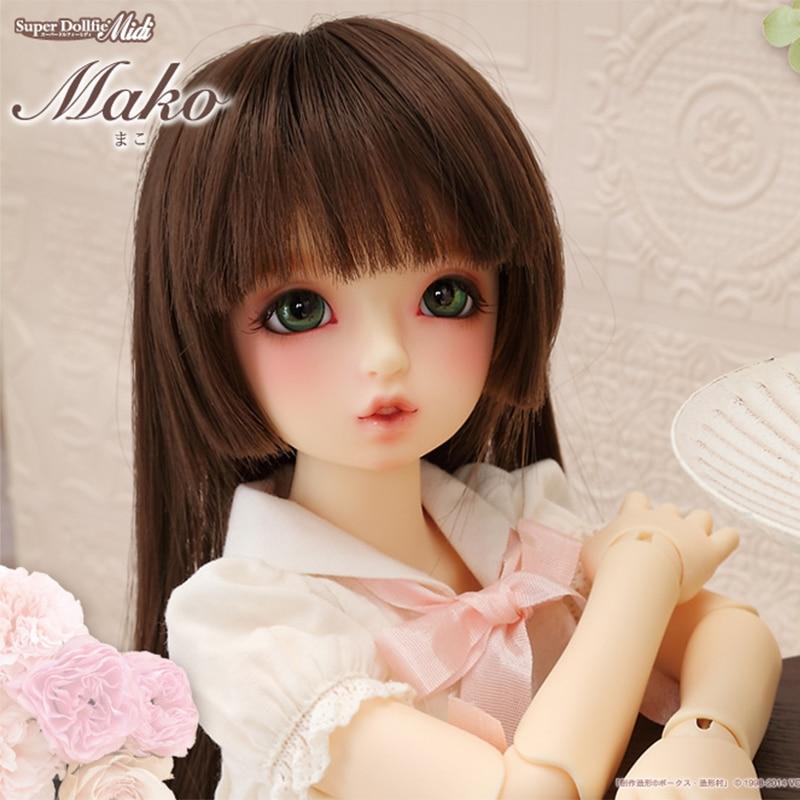 ФОТО OUENEIFS bjd sd dolls Volks msd mako 1/4 model reborn girls boys eyes High Quality toys makeup shop resin