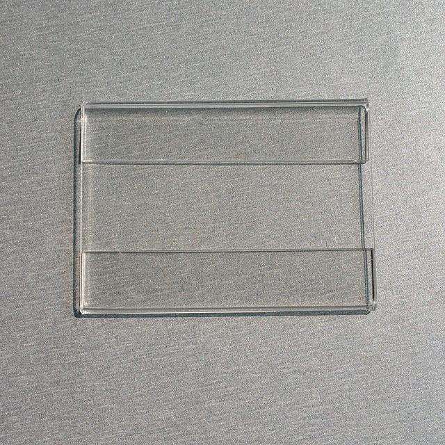 66c53452292 8x5 cm Acrílico T1.2mm Promoção Price Tag Papel de Etiqueta do Sinal de  Plástico