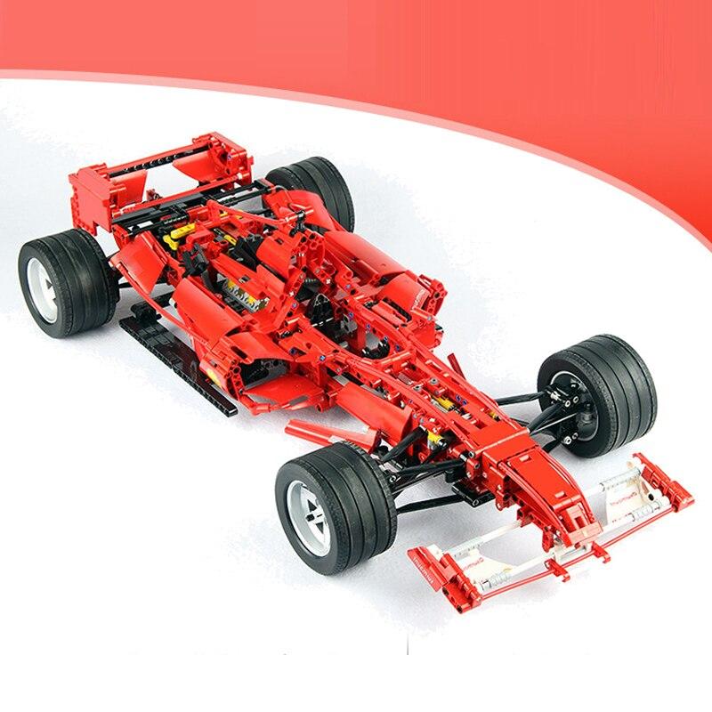 Décool Technic bloc de construction 1:8 formule F1 Racer Sport voiture briques éducatives 1242 pièces jouet pour cadeau garçon