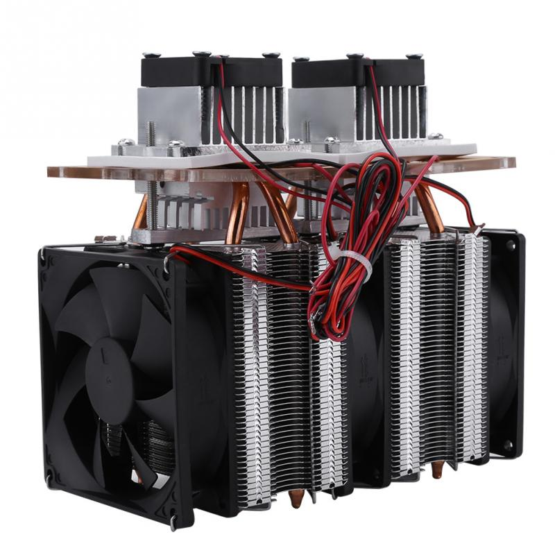 144W Dual core Semiconductor Refrigeration Peltier Air Cooling Dehumidification Equipment