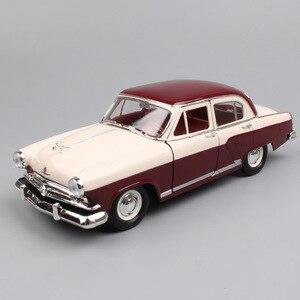 Image 1 - 1:24 escala rússia soviet union gorky gás 21 m21 volga salão 1957, clássico retro diecast veículo, modelo, brinquedo de carro em miniatura para bebê