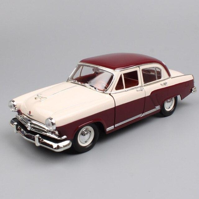 1:24 escala rússia soviet union gorky gás 21 m21 volga salão 1957, clássico retro diecast veículo, modelo, brinquedo de carro em miniatura para bebê