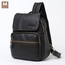 MONOLETH Genuine font b Leather b font font b Men b font School Bag Woman font