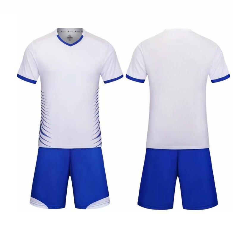 6399e924 Для мужчин футбольные майки комплект Voetbal Tenue дети Survete Для мужчин  футболка Homme форме Футбол спортивный
