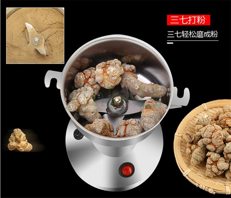 free ship 110V 220v tea grinder/spice grinder/Food Grinding Machine/Coffe grinder small powder mill, 150g high speed