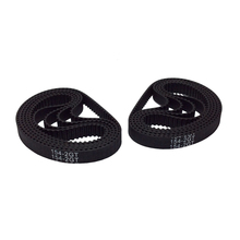 2GT-6 2/5/10PCS Rubber Timing Belt 252/260/264/268/274/280/284/288/294/300/302mm Length 6/9mm Width For 3D Printing