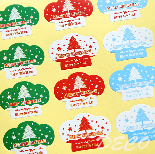 100pcs/lot New Christmas series seal stickersMERRY CHRISTMAS sticker for gift packaging(ss-a831) автокресло inglesina inglesina автокресло galileo группа 2 3 grey