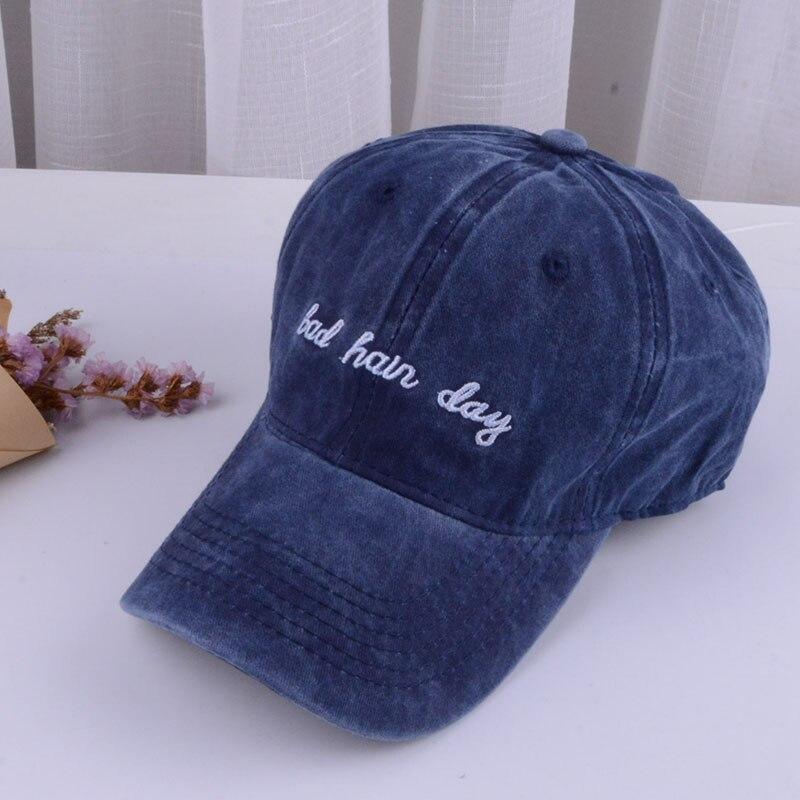 bad hair day baseball cap men women mens baseball cap men black cap dad hat (4)