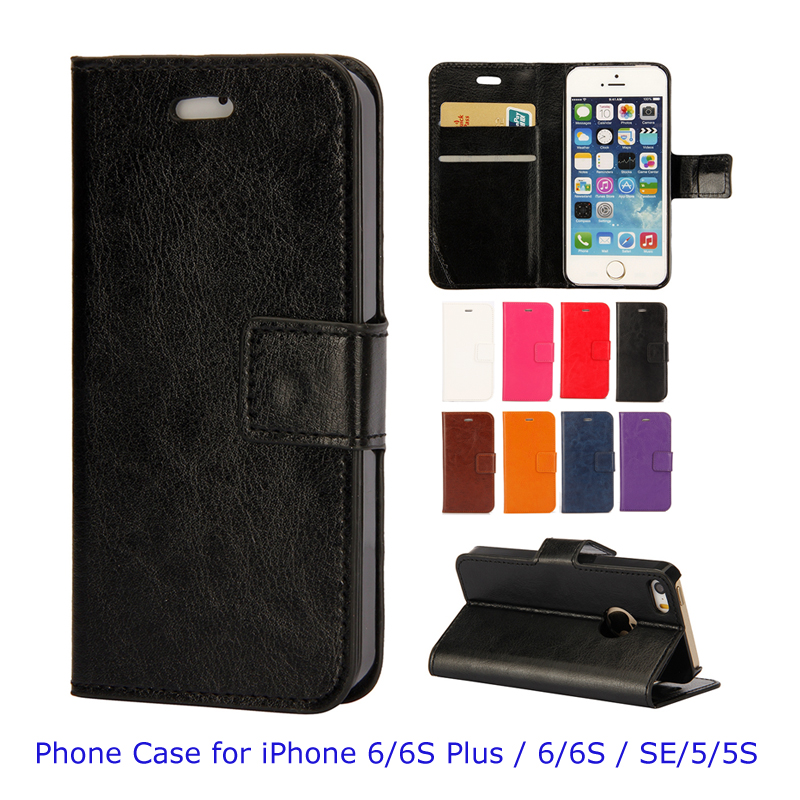 iphone 5s cheap cases supper cheap wallet leather phone for iphone 6 6s 9864