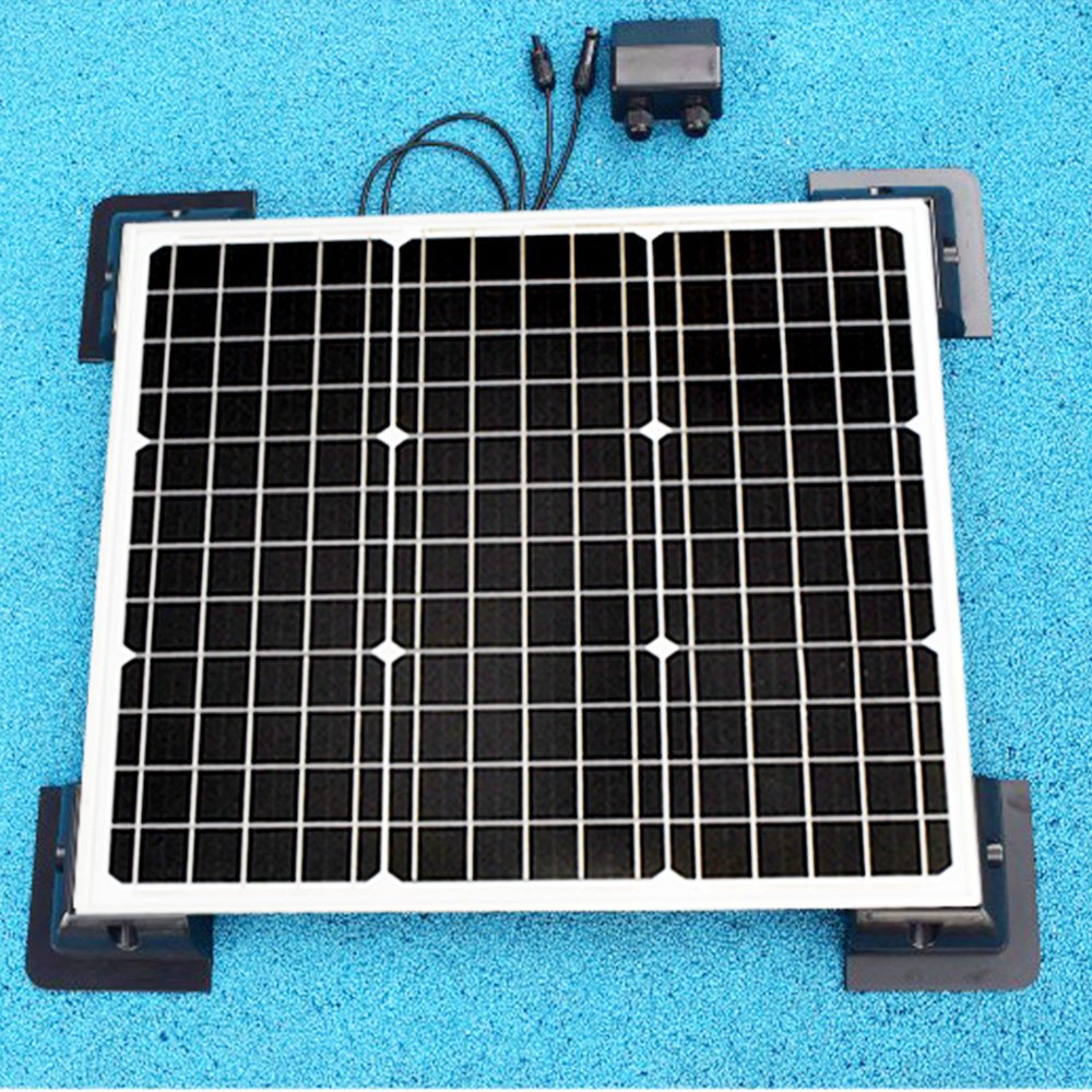 BOGUANG 50W Monocrystalline Solar Module by ABS fix frame solar cell factory cheap selling 12V solar panel RV Marine Boat ...