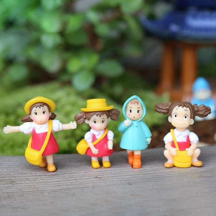 Mini world landscaping decorative micro artificial 6 kinds mini girl DIY accessories material K6707